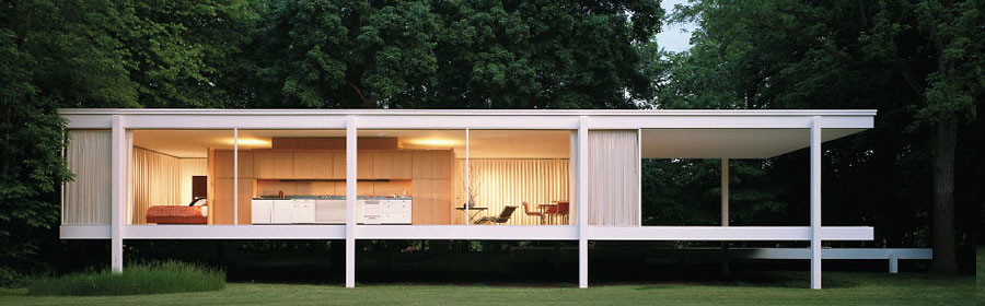 Farnsworth House Interior Elements The House